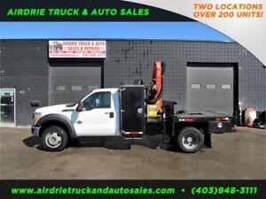 2011 Ford Super Duty F-550 DRW XLT 6501 Palfinger Picker Truck