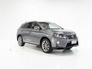 2014 Lexus RX GGL15R RX350 Sports Luxury Grey Sports Automatic Cooee Burnie Area Preview