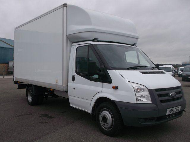 Ford Transit T350 LWB 115 LUTON WITH TAIL LIFT DIESEL MANUAL WHITE (2011)