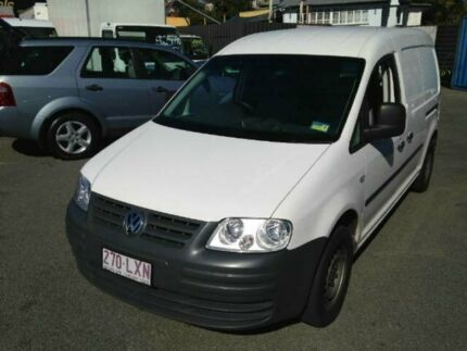 2009 Volkswagen Caddy 2KN Van Maxi LWB DSG White 6 SPEED Semi Auto Van Greenslopes Brisbane South West Preview