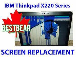 Screen Replacment for IBM Thinkpad X220 Series Laptop