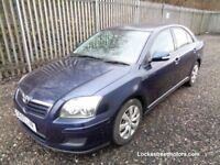 TOYOTA AVENSIS T2 1.8 5 DOOR HATCBACK PETROL 2007 BLUE 65,000 MILES MOT 10/03/18 EXCELLENT CONDITION