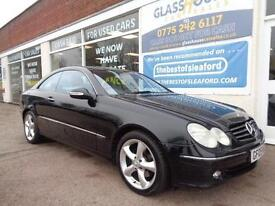 Mercedes-Benz CLK320 3.2 auto Avantgarde Full S/H £3860 added extras P/X