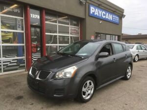 2009 Pontiac Vibe   CHECK OUT OUR NEW WEBSITE AT PAYCANMOTORS.CA