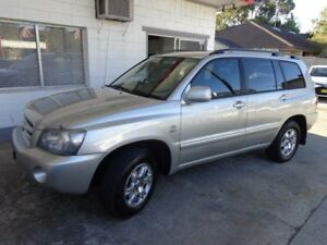 2005 Toyota Kluger MCU28R Upgrade CVX (4x4) Silver 5 Speed Automatic Wagon Sylvania Sutherland Area Preview