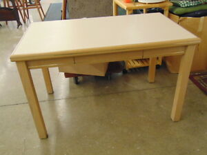 1 Drawer table with Oak Trim