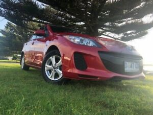 2013 Mazda 3 BL10F2 MY13 Neo Activematic Velocity Red 5 Speed Sports Automatic Sedan South Burnie Burnie Area Preview