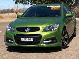 2015 Holden Commodore VF MY15 SV6 Storm Green 6 Speed Sports Automatic Sedan Hillvue Tamworth City Preview