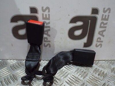 CITROEN DS3 1.6 DIESEL 2014 PASSENGER SIDE REAR AND CENTRE SEAT BELT BUCKLE