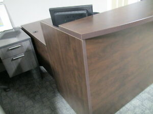 Recption Desk L-Shaped-Located in Oshawa-Open to the Public Peterborough Peterborough Area image 3