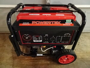 9250 WATT PORTABLE GENERATOR, ELECTRIC START, GAS,120/240V