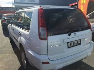2002 Nissan X-Trail T30 ST (4x4) White 4 Speed Automatic Wagon Sandgate Newcastle Area Preview