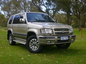 2002 Holden Jackaroo U8 MY02 SE Gold 4 Speed Automatic Wagon Rockingham Rockingham Area Preview