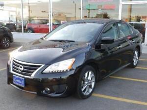 2014 Nissan Sentra SR,NAVI,CAMERA,USB,ROOF,1-OWNER,NO ACCIDENTS