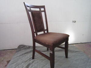 Clean Solid Wood Set of 4 chairs - $140