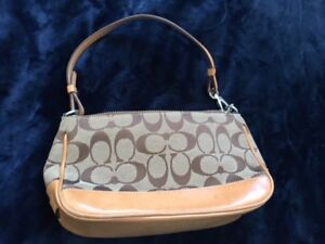 Genuine Coach small handbag