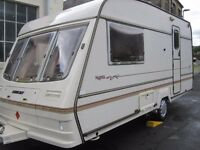 Bailey Pageant Magenta Two Berth Touring Caravan