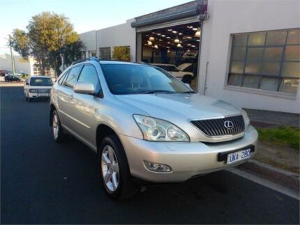 2006 Lexus RX350 GSU35R Sports Luxury Silver 5 Speed Sequential Auto Wagon Burwood Whitehorse Area Preview
