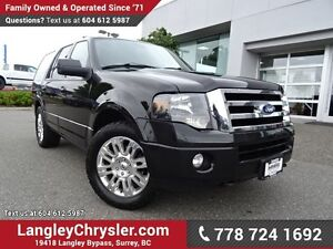 2012 Ford Expedition Limited W/ NAVIGATION, LEATHER INTERIOR...