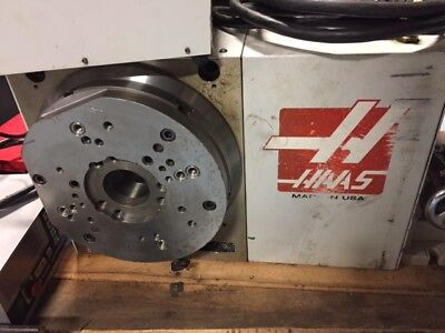 Haas Hrt-310 Brush Rotary Table Indexer 4th Axis 90 Days Warranty