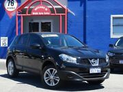 2014 Nissan Dualis J10 MY13 ST (4x2) Black 6 Speed CVT Auto Sequential Wagon Welshpool Canning Area Preview
