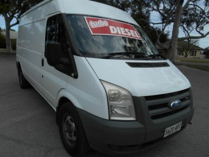 2008 Ford Transit VM Mid (LWB) White 6 Speed Manual Van Nailsworth Prospect Area Preview