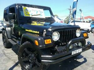 2006 Jeep Wrangler TJ Golden Eagle Black 6 Speed Manual Softtop Greenacre Bankstown Area Preview