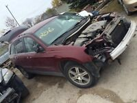 2008 CHRYSLER PACIFICA PARTS CAR PARTING OUT Winnipeg Manitoba Preview