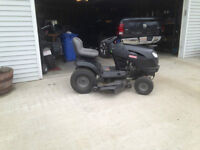 2013 Craftsman 24 horse riding mower
