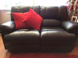 2 seater and 3 seater reclining sofas