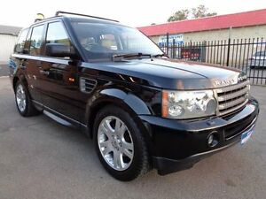 2005 Land Rover Range Rover Sport 2.7 TDV6 Black 6 Speed Sequential Auto Wagon Pooraka Salisbury Area Preview
