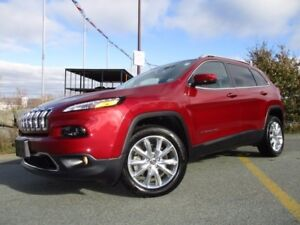 2017 Jeep CHEROKEE Limited V6 (ONLY 10500 KMS!!! JUST REDUCED TO