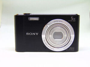 Sony Cyber-Shot DSC-W800 20.1MP Digital Camera 5x Optical Zoom