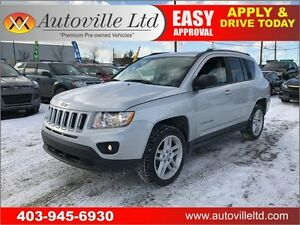 2012 Jeep Compass Limited 4X4 LEATHER HEATED SEATS LOW KM!!