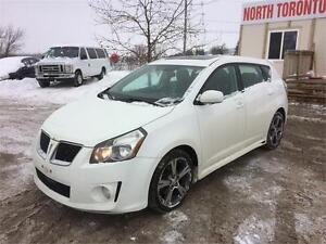 2009 PONTIAC VIBE GT - 5 SPD MANUAL - POWER OPTIONS - CLEAN