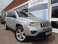 Jeep Compass 2.4 ( 4WD ) CVT 2011 Limited F/S/H P/X (Reduced was £7495.00)