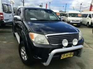 2006 Toyota Hilux GGN25R 06 Upgrade SR5 (4x4) Black 5 Speed Automatic Dual Cab Pick-up Granville Parramatta Area Preview