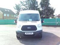 Ford Transit T350 L3H2 VAN 125PS EURO 5 DIESEL MANUAL WHITE (2016)
