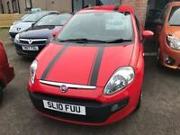 FIAT PUNTO EVO 1.4 ACTIVE 3d 77 BHP (red) 2010