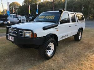 2002 Ford Courier PE GL (4x4) 5 Speed Manual 4x4 Crew Cab Pickup Clontarf Redcliffe Area Preview