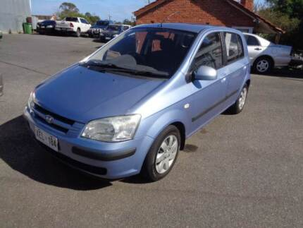 2005 Hyundai Getz Hatchback Blair Athol Port Adelaide Area Preview