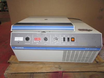 Beckman Gs-6r Refrigerated Centrifuge 362114 With Gh3.8 Swing Bucket Rotor