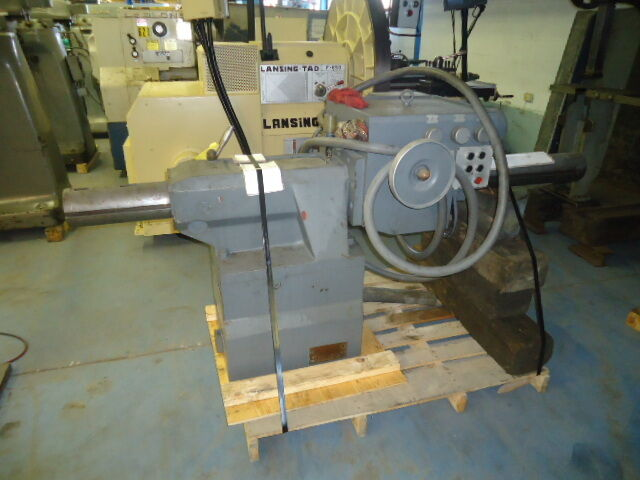 Poreba Boring Tailstock, Power Feed, 6 Mt
