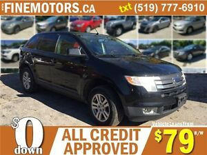 2008 FORD EDGE SEL AWD * PANORAMIC ROOF * ALL POWER OPTIONS London Ontario image 1