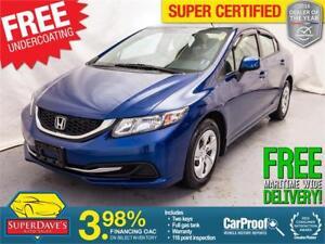 2013 Honda Civic  LX *Warranty*