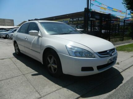 2005 Honda Accord 40 VTi White 5 Speed Automatic Sedan Williamstown North Hobsons Bay Area Preview