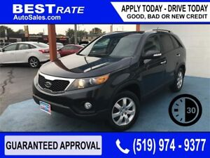 KIA SORENTO LX - APPROVED IN 30 MINUTES - ANY CREDIT LOANS!