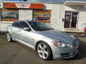 2009 JAGUAR XF SUPERCHARGED,LEATHER,ROOF BACK UP CAM