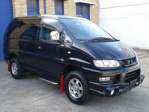 2005 Mitsubishi Delica SPACEGEAR High Roof Black 4 Speed Automatic Wagon Taren Point Sutherland Area Preview