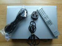 DVD/CD player with remote control and new scart lead
